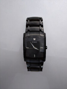 *USED* Black Fossil Men's Watch