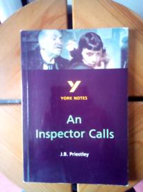 "York notes for ""An inspector calls"""