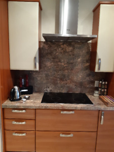 FULLY ASSEMBLED  KITCHEN CABINETS  - PRISTINE CONDITION