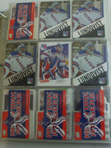 LOT DE 275 CARTES DE HOCKEY DE GARDIENS DE BUT ETOILES DE LA LNH