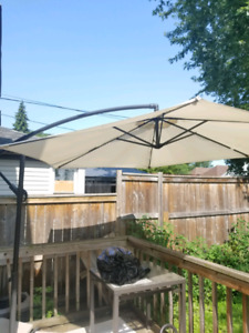 Backyard umbrella used condition