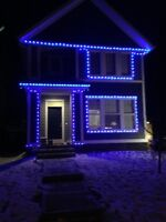 Christmas Light Installations 587-229-2371! Affordable rates!