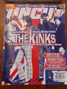 Uncut UK rock music magazine featuring The Kinks