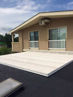 Flat Roofing -  Let us help you, protect your investment!