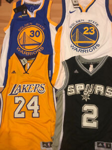 *** BASKETBALL - JERSEYS  - LAKERS, JORDAN, CAVALIERS, LEBRON  *