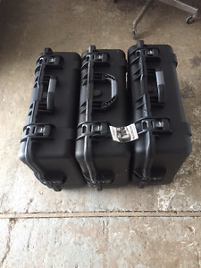 4 LARGE 945 SERIES NANUK PELICAN CASES, BRAND NEW COMES WITH FO