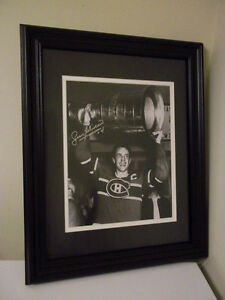 JEAN BELIVEAU MONTREAL AUTOGRAPH PHOTO WITH CERTIFICATE