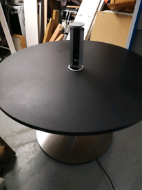Techo circular matt Black/crome full eletric with smart tower