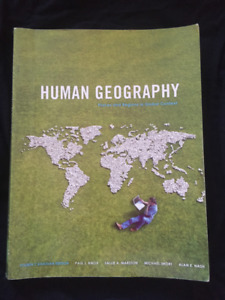 book for York AP/GEOG 1410 6.0 Human Geography