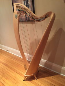 Lyon and Healy Ogden Lever Harp