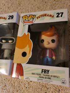 FRY & BENDER SET - Futurama POP! Set (29,27)
