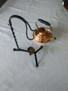 Copper Craft Kettle And Chafing