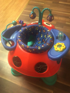 Lady Bug Exersaucer - Can Deliver or Meet