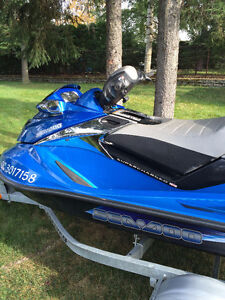 Seadoo GTX supercharged 215 2007 édition limitée