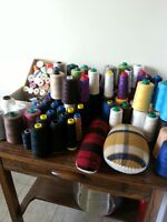 SEWING THREAD AND SUPPLIES $70.00