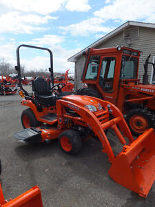 Used Kubota BX2370 with Loader and Mower Deck