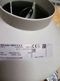 RVK Sileo 150e2 Extracion Fan. 10 inch