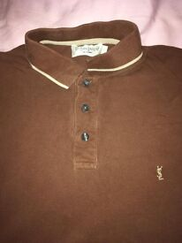 Yves Saint Laurent original Polo t-shirt (HIGH FASHION DESIGNER)!!