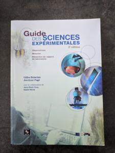 Livre : Guide des sciences expérimentales