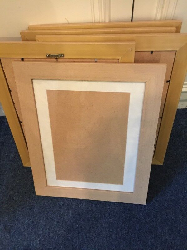 Teak wooden picture frames | in Pendlebury, Manchester | Gumtree