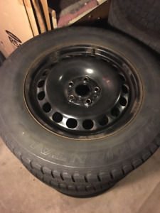 **SOLD** 215 65 16 Continental Winter Tires for VW Tiguan