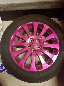 Subaru Impreza OEM Rims/Goodyear Nordic Winter Tires