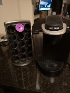 Keurig machine with breville pod storage