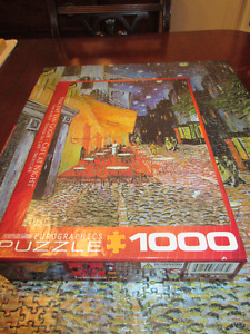 Vincent Van Gogh - Cafe at Night 1000 Piece Puzzle Eurographics