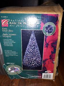 Fibre Optic Christmas tree (6 1/2 ft) - OBO