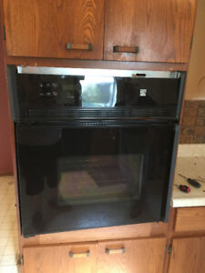 "24"" Wall Oven Black"