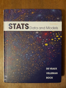 STATS Data and Models 3rd Edition Textbook