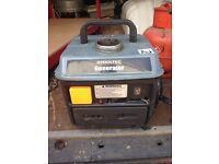 Tooltec 650w 2 stroke generator caravan,allotment,broad,camping