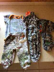 Cabelas outfit, sleeper and onesie