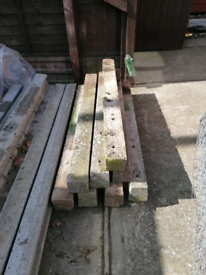 Concrete fence posts 4ft 1220mm x 8