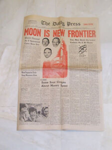1969 Man on the Moon Edition -- The Timmins Daily Press