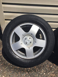 VOLKSWAGON GOLF  15 inch RIMS AND TIRES FOR SALE