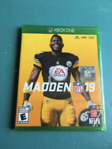 Madden nfl 19 +pre order dlc for Xbox one new