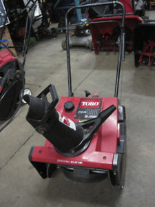 TORO SINGLE STAGE SNOWBLOWERS