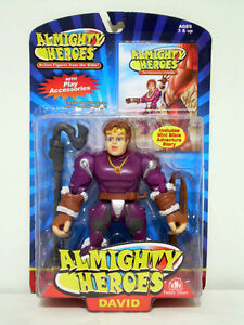 Almighty Heroes Action Figure - DAVID - New/Sealed