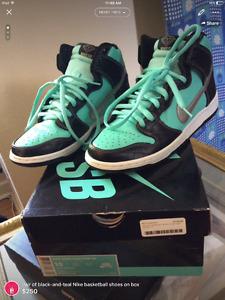 Diamond Nike SB dunks (Tiffinys)