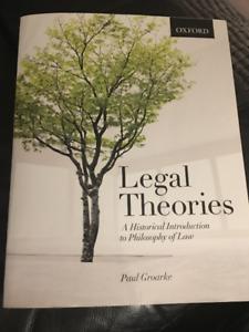 Legal Theories Paul Groarke