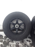 Aluminum Winter Rims and Tires for F150