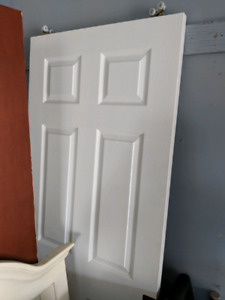 Sliding door white standard size