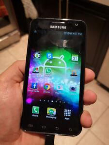 Samsung Galaxy S2 Unlocked mobile cellular phone.