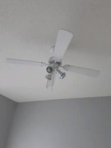 Nice Four Bladed Ceiling Fan