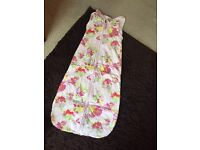 Baby girls sleeping bag ted baker 6-18 months