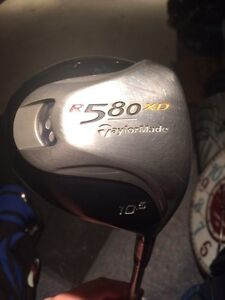 Taylor Made R580XD 10.5 Right handed driver