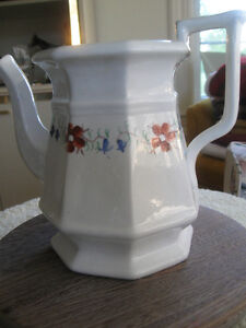 LARGE FAMILY-SIZED VINTAGE CHINA TEA POT [NO COVER ]