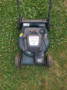 Non working self propelled lawnmower