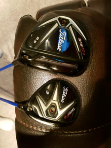 915 Driver and 3 wood with upgraded shafts